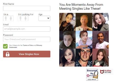 ChinaLoveCupid Registration
